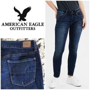 AEO Super Stretch Skinny Jeans Size 10 Long